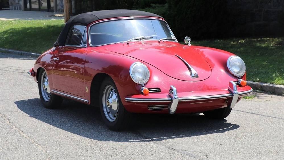 1960 Porsche 356B 1600 Super Cabriolet