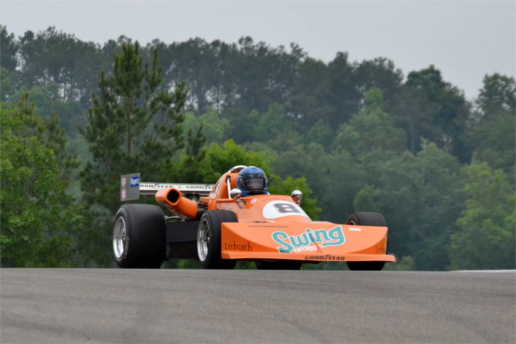 ORANGE SWING FORMULA VINTAGE DRIVEN BY BOBBY RAHAL