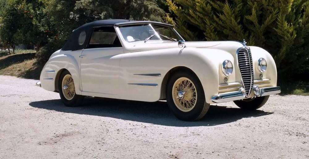 1949 Delahaye Type 135M Cabriolet
