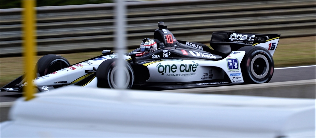 Indy Car Graham Rahal #15 One Cure