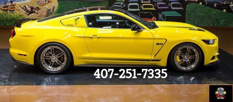 2016 Mustang GT California Special-Highly, but Tastefully and Powerfully Modified