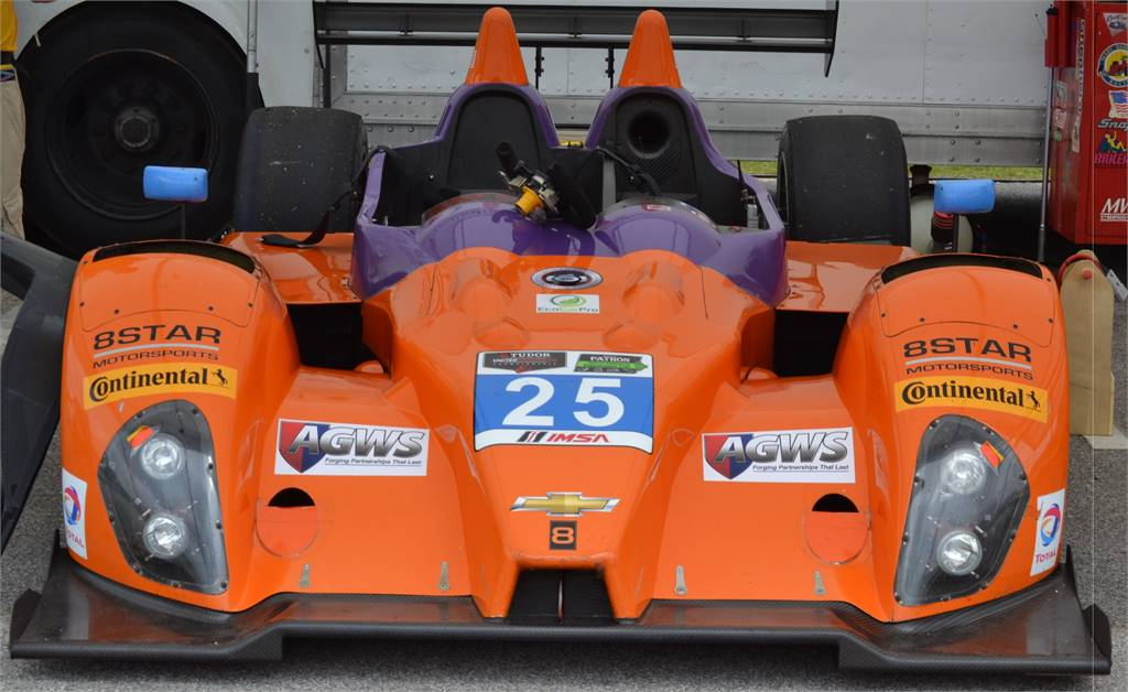 ORANGE 8 STAR IMSA RACE CAR