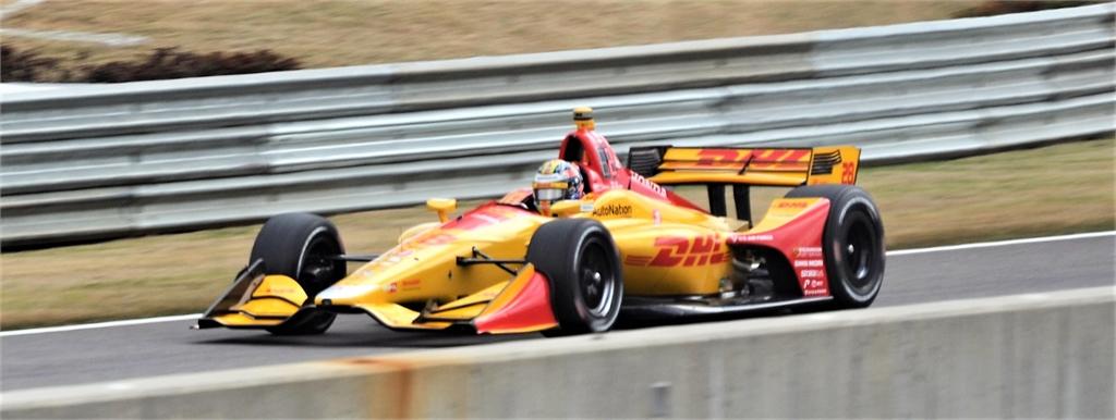 Scott Dixon #28 Indy Car Racing Barber Motorsports Park