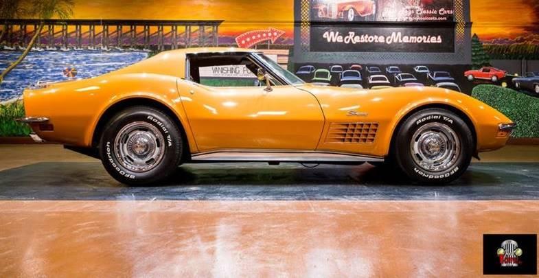 1972 Chevrolet Corvette 4 Speed, Loaded, Original, Matching #'s