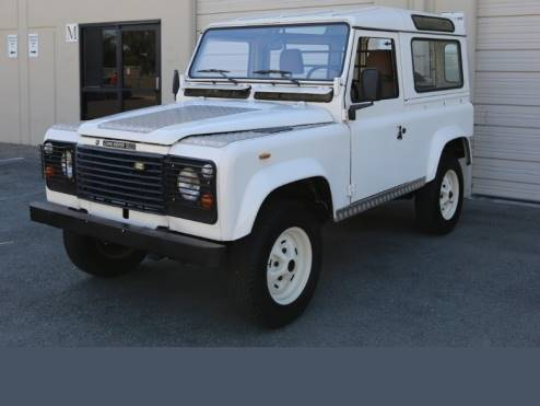 1990 Land Rover Defender 90 Rare Left-Hand Drive with 5-Speed
