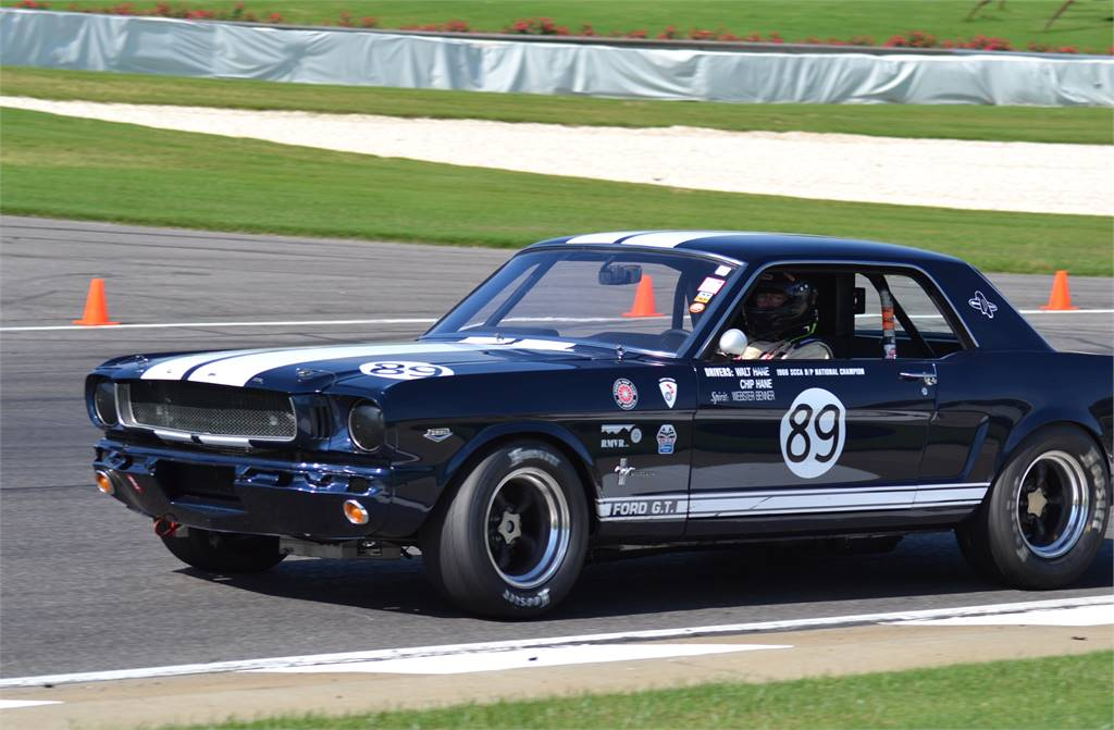 1965 Mustang Road Racing, SCCA, Pirelli Challenge