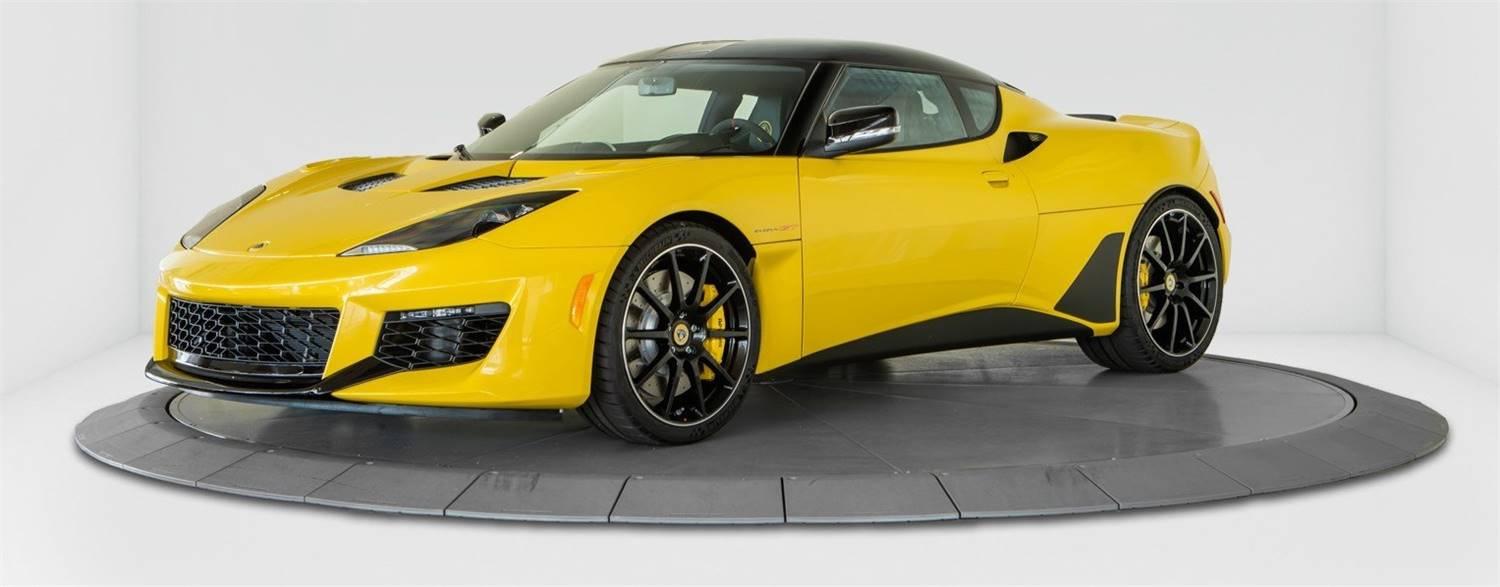 NEW 2020 LOTUS EVORA GT YELLOW FOR SALE