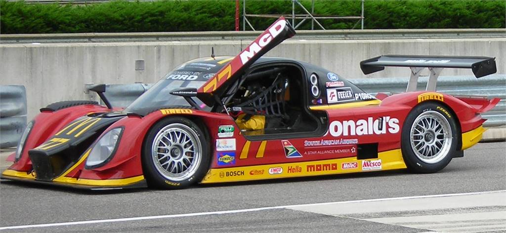 CONTINENTAL SERIES PROTOTYPE MCDONALDS CAR READY TO GO