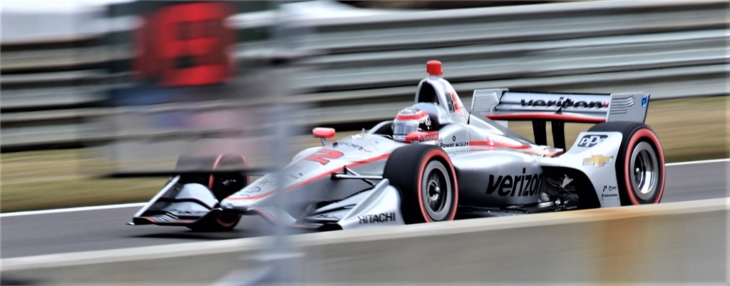 #12 Will Power Indy Car Race Barber Motorsports Park