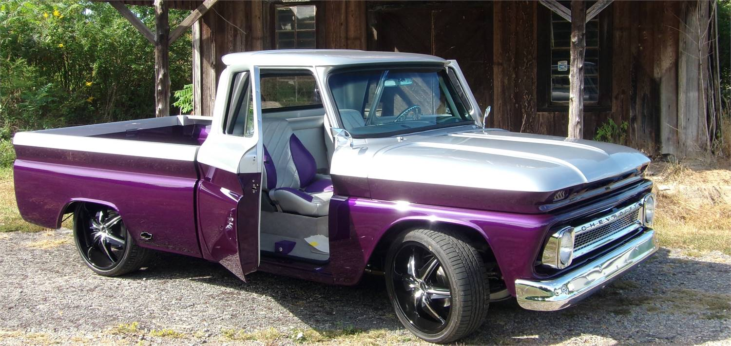 1965 CHEVY CUSTOM SHOW TRUCK-1st Place World of Wheels along with many other Awards