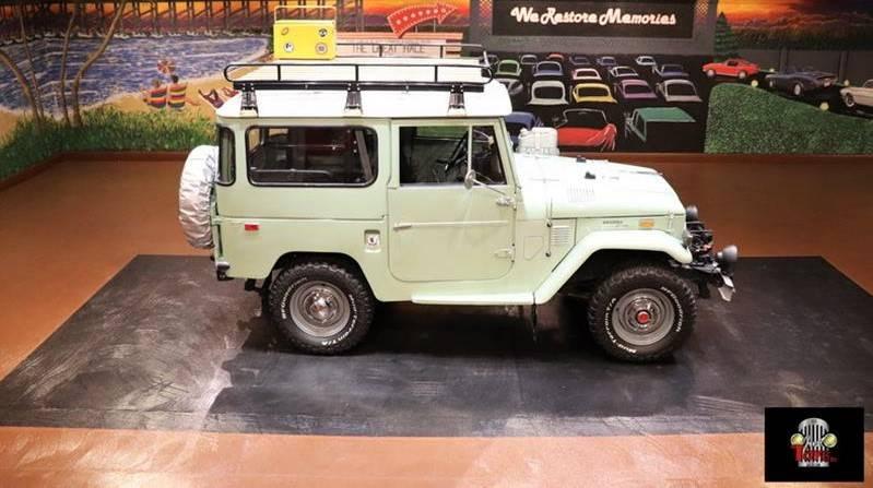 1974 Toyota Land Cruiser Wagon