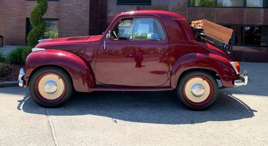 1953 Fiat Topolino Trasformabile...extremely charming car, quality older restoration