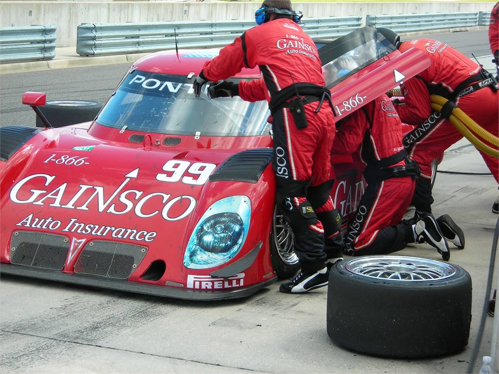 GAINSCO RACING CONTINENTAL CHALLEGE WINNING CAR PROTOTYPE