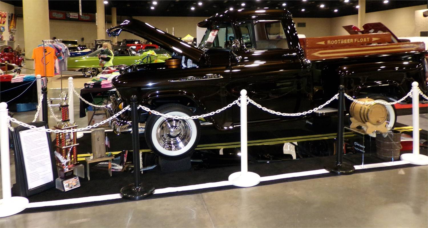 1956 Fully Restored Frame Off to Original Factory Condition. Show Truck with 1250 Miles.
