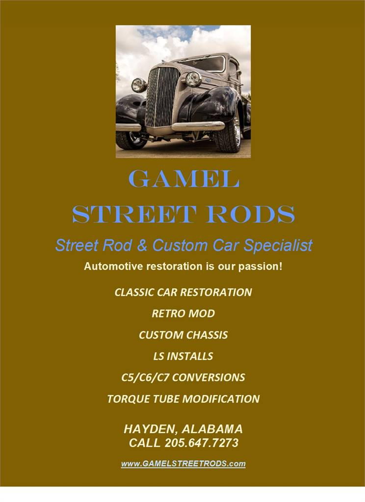 GAMEL STREET RODS & MORE