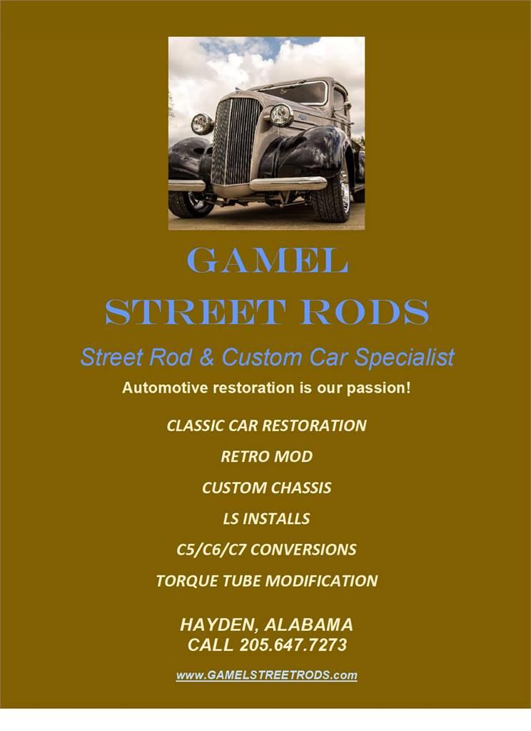 GAMEL STREET RODS & MORE