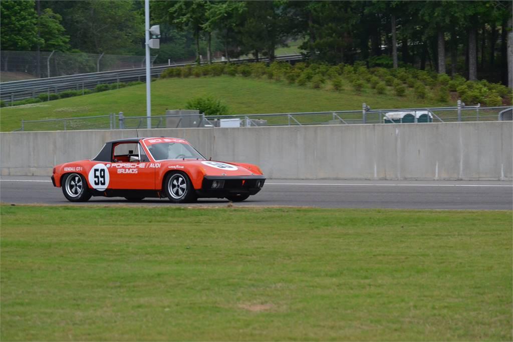 BRUNOS PORSCHE 914 ON TRACK