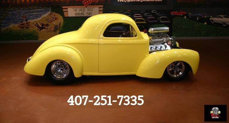 1941 Willys with Keith Black 488 Cubic Inch Hemi with Dual Quads and Blower.... 900 HP!!!!