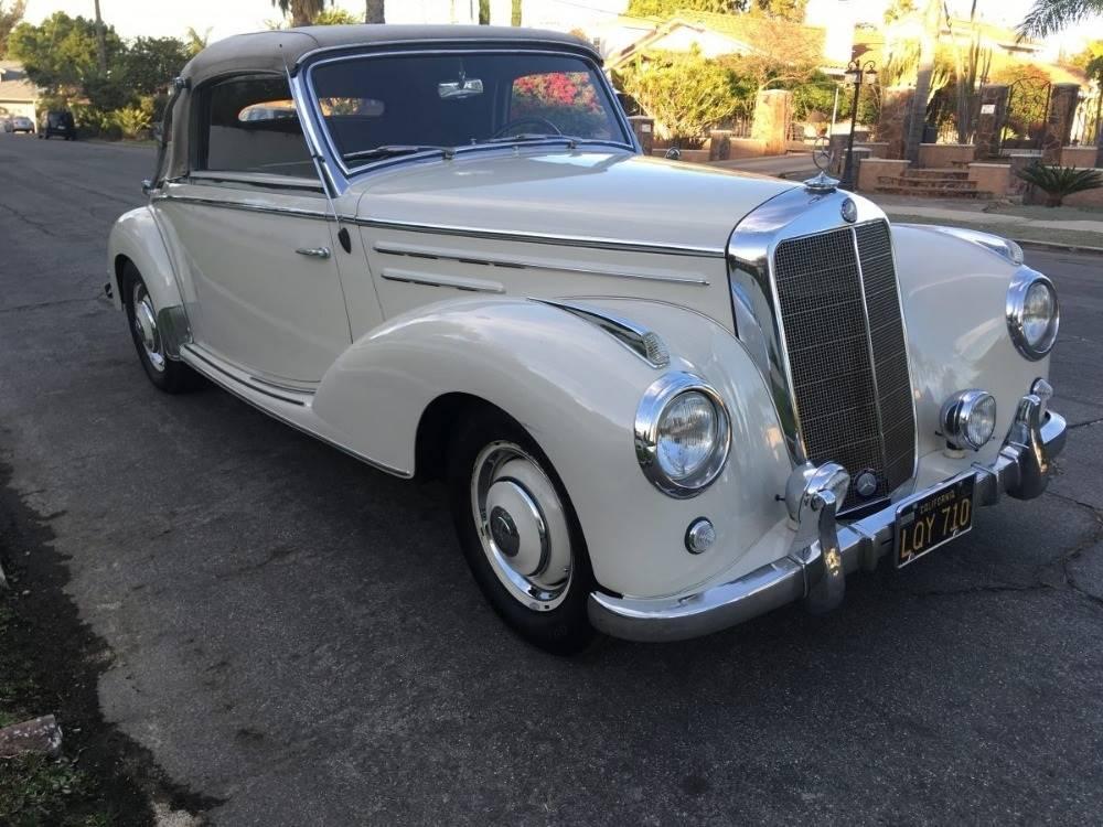 1955 MERCEDES BENZ 220A Cabriolet