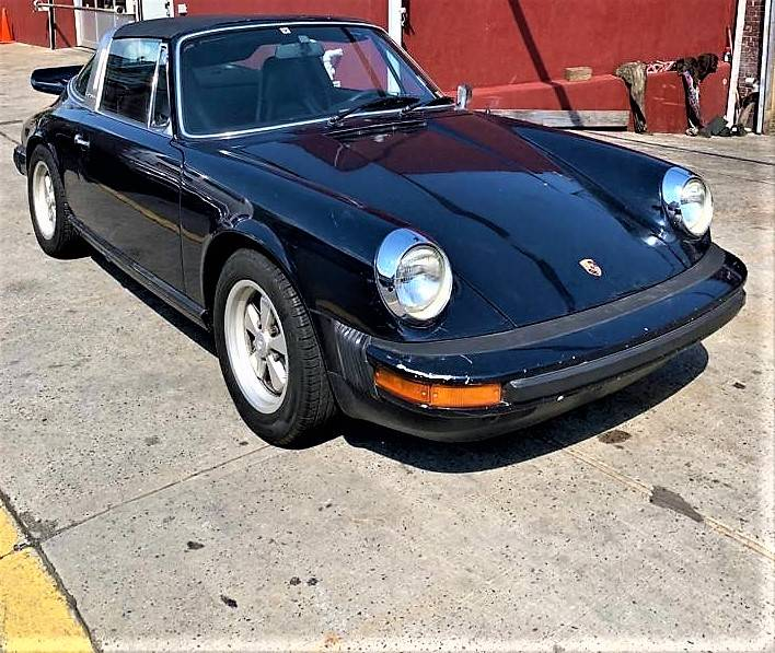 1975 Porsche 911S TargaThis 1975 s a great buy with a lot of potential. Blue with black interior. Ru