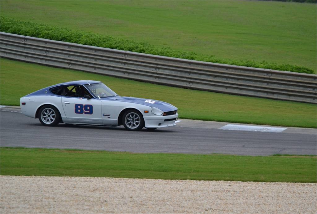 DATSUN Z CAR THROUGH CHARLOTTES WEB BARBER MOTORSPORTS PARK