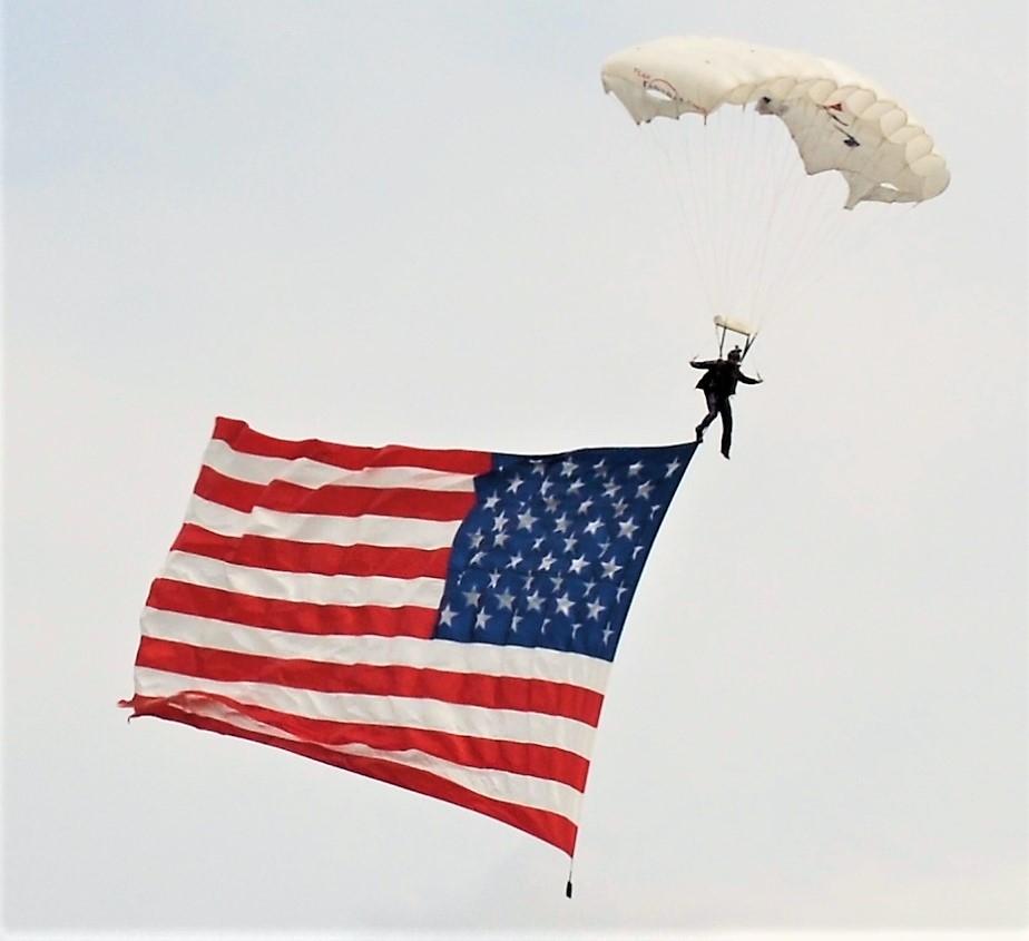 United States of America Flag Parachute