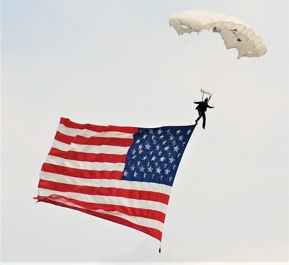 United States of America Flag Parachute