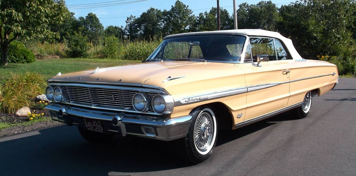 1964 Ford Galaxie 500 XL Convertible Loaded with Rare Factory Options