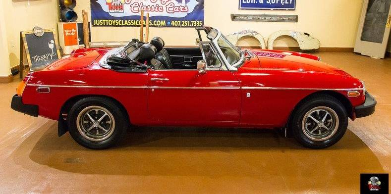 1975 MG B Convertible 50th Anniversary Car