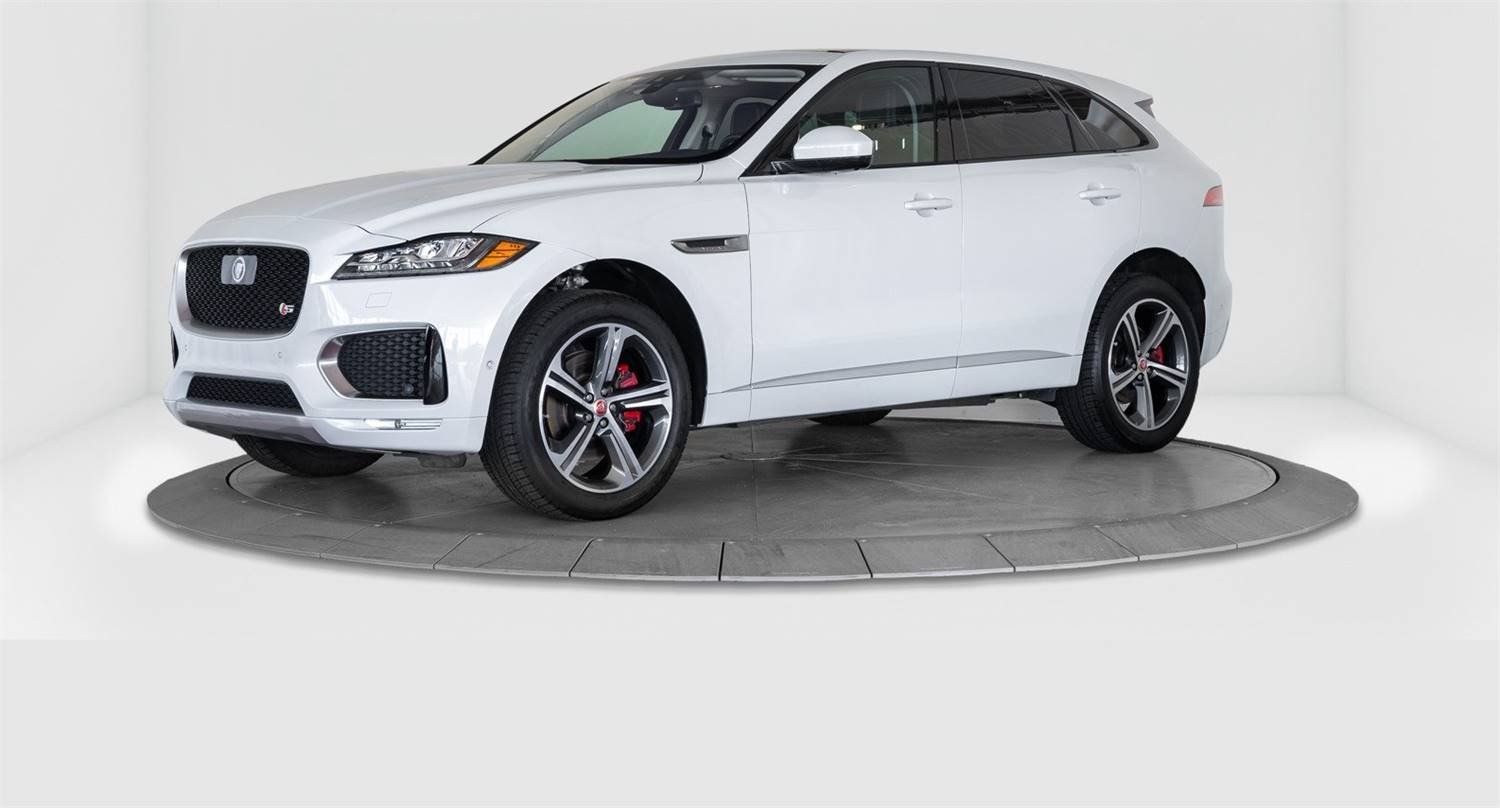 2017 JAGUAR F-PACE S, SUPERCHARGED, ALL WHEEL DRIVE