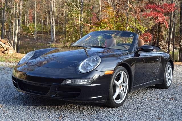 SOLD  2006 Porsche 911 Carrera Cabriolet   SOLD