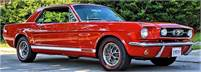 SOLD    1966 Mustang GT Coupe - A Code HIGH-END ROTISSERIE RESTORATION