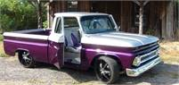 '65 CHEVY CUSTOM BUILT SHOW TRUCK WITH SUICIDE DOORS-MULTIPLE FIRST PLACE AWARDS